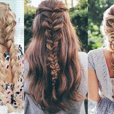 Top 100 cute and easy hairstyles photos Braids See more http://wumann.com/top-100-cute-and-easy-hairstyles-photos/