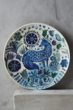 Anthropologie EU Norse Dessert Plate