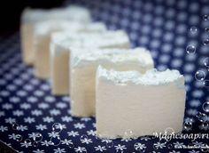 """""""Мятное лето"""" - соляное мыло с нуля другим способом (рецепт и мастер-класс. » Блог Волшебное мыло и прочие удовольствия"""