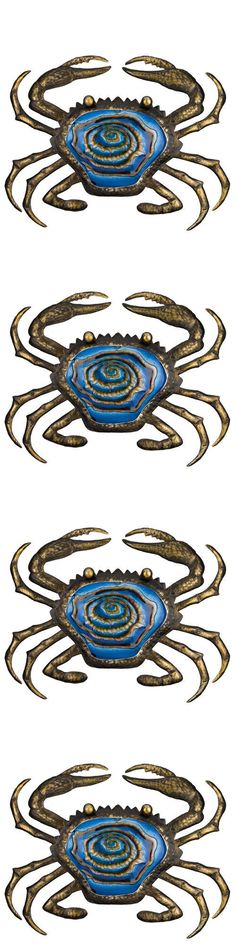 Wall Sculptures 166729: Coastal Bronze Wall Decor - 20 Crab - Regal-Art-And-Gift 10907 -> BUY IT NOW ONLY: $49.5 on eBay!