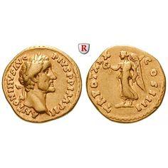 Römische Kaiserzeit, Antoninus Pius, Aureus 138, ss+: Antoninus Pius 138-161. Aureus 19 mm 138 Rom. Kopf r. mit Lorbeerkranz r.… #coins
