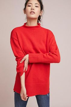 aeb01bb426a4 Slide View: 1: Saskia Oversized Pullover Sweater Weather, Anthropologie,  Your Style,