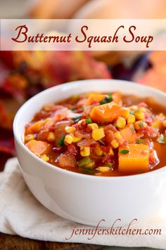 Healthy Butternut Squash Soup - delicious and slimming
