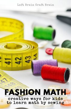 Sewing Kids Crafts and Activities   Tutorials, printables, beginner sewing projects, and more!  Teach your kids to sew this summer.