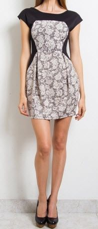 Ready To Bloom Lace Detail Dress $44.00