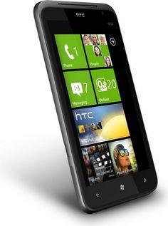 HTC X310E Titan Unlocked Smartphone with Windows Phone OS 7.5, 8 MP Camera, 16 GB Internal Storage, Touchscreen, Wi-Fi, GPS--No Warranty (Carbon Gray) - For Sale
