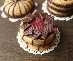 Miniature Chocolate and Raspberry Cake