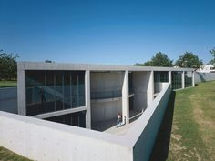 The 1993 construction of the Conference Pavilion by Tadao Ando was the architect's first building outside Japan.