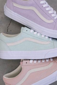 Love these pastel vans for spring and summer. - Love these pastel vans for spring and summer. – – Shoes ,… Love these pastel vans for spring and summer.