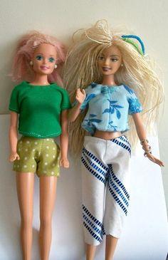 barbie wardrobe patterns to download free