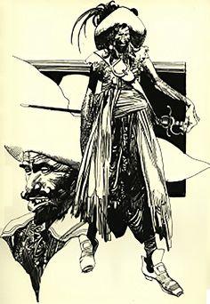 Sergio Toppi - Pirates