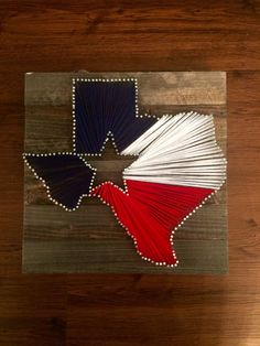 Texas String Art by BoutiqueDeTejas on Etsy