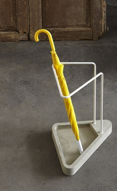 Porte-parapluie en acier inoxydable WAITING Collection Objectives by Atipico design Federico Angi