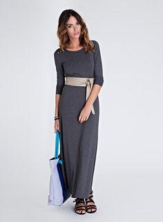 Everyday Maxi Dress at baukjen.com with obi belt