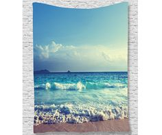 Beach tapestry wall decoration - dorm room tapestry