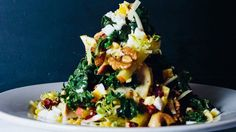 Spinach and Chicken Waldorf Recipe | Bon Appetit