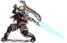 Smash Striker: Shulk by Tails1000.deviantart.com on @deviantART
