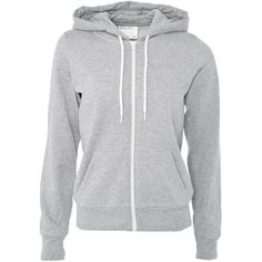 White Label Zip Through Hoody ($23) ❤ liked on Polyvore featuring tops, hoodies, jackets, outerwear, shirts, women, zipper hoodies, zippered hooded sweatshirt, zip hoodie and zip hooded sweatshirt