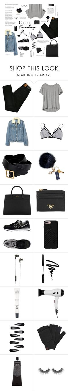 """Let it be your blaze of glory"" by nickel-emacity ❤ liked on Polyvore featuring Maison Scotch, Gap, Anja, Alexander McQueen, Mark & Graham, Prada, New Balance, Rebecca Minkoff, B&O Play and Hemingway"