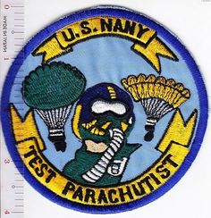 Airborne US Navy Special Operations Test Parachutists