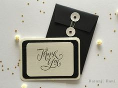 Say 'Thank You' with one our pretty greeting cards