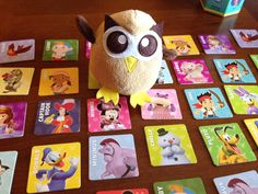 Owly is ready to play the Memory game. Is he cheating? Day 90 of #yearofowly #lifeofowly