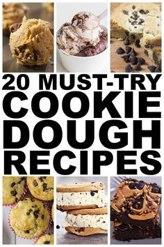 If you have an unhealthy love for cookie dough like I do, you HAVE to check out this fabulous collection of edible cookie dough recipes. It's filled with so many great ideas (think: cookie dough dip, cookie dough brownies, and cookie dough cupcakes), and for those of you who are trying to watch your waistline, I even threw in a low-fat option. Enjoy!