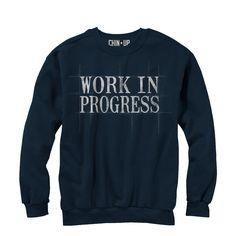 CHIN UP Women's - Work in Progress T-Shirt