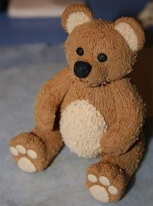 Polymer Clay Teddy bear