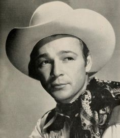 Roy Rogers,  he & trigger used to pray at the end of every show. He was Danny's uncle and he and Dale would come and visit family for a couple of days a year.