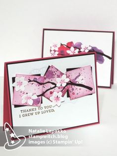 Homemade cards by Natalie Lapakko featuring Seasonal Layers Thinlit Dies from the Colorful Seasons suite by Stampin' Up!