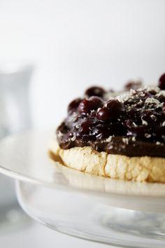 Tasty Tuesday.... Blackforest Pavlova | The Whimsical Wife