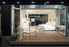 Dwell On Design, T Home, Oversized Mirror, Home And Garden, Loft, Bed, Magic, Inspiration, Furniture