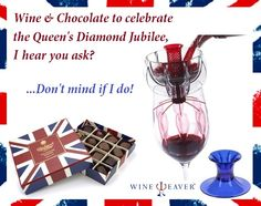 Wine & Chocolate - Celebrate the Diamond Jubilee with WineWeaver & Charbonnel et Walker
