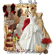 Disney Style : Belle's Wedding