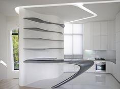 d'Leedon en Singapore de Zaha Hadid [Zaha Hadid: http://futuristicnews.com/tag/zaha-hadid/]