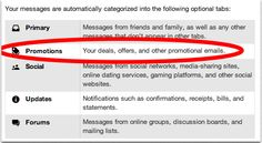 Gmail Tabs Email Marketing, Implications for email marketers