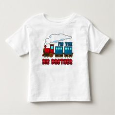 i'm the big brother cartoon train toddler t-shirt - click to get yours right now!
