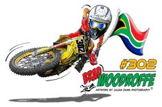 Custom cartoon caricature motocross designs for MX riders and the perfect gift with a difference Motorcycle Art, Bike Art, Joes Bar, 2d Art, Motogp, Motocross, Custom Cars, Art Drawings, Drawing Art