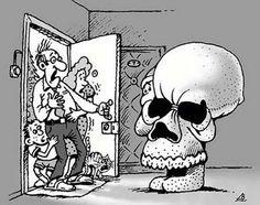 Santa or skull – you decide!