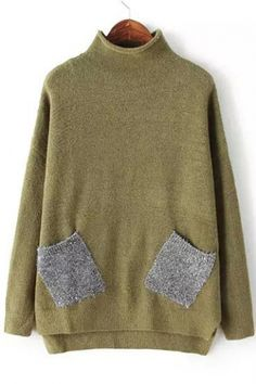 This is one super ugly sweater. But it looks so cozy and comfy that I would probably wear it. Haha.