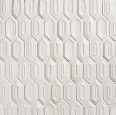 Walker Zanger Vibe White Gloss Ceramic Tile Mesh Backed