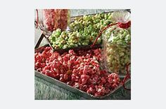 Jello Popcorn!!!!...a favorite snack my Grandma made!...will leave out the peanuts tho'.(I'm a kid again)