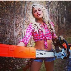 Because I love stihl chainsaws!                                                                                                                                                                                 More