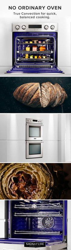 Signature Kitchen Suite enables you to have full control over your entire cooking experience. Cook and monitor from any location thanks to our oven being Wi-Fi Enabled. Enjoy a GlideShut™ Door that opens and closes gently with grace and elegance. Speed Clean™ makes your oven sparkle in only ten minutes using water instead of fumes or high heat. Our double wall oven's state of the art features will change the way you cook, from start to finish.