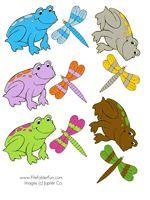 Frog Food File Folder Game from File Folder Fun