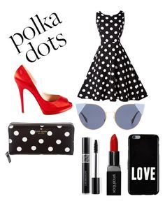 """""""Untitled #62"""" by mirah11 on Polyvore featuring Kate Spade, Fendi, Givenchy, Smashbox, Christian Dior and Casadei"""