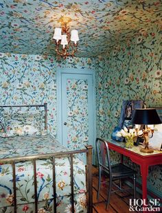 The guest room in Chloë Sevigny's Manhattan apartment is a madcap take on…