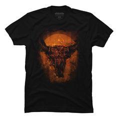 Buffalo Skull Men's T-Shirt