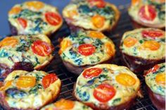 Frittata Muffins   The Good Calorie. Perfect low calorie brunch food!
